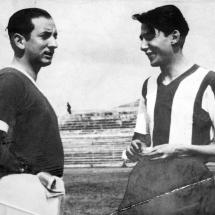 Desde muy joven, don Guillermo Cano fue amante del fútbol.
