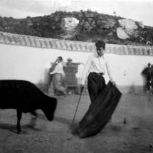 Desde su juventud, Guillermo Cano fue amante de las corridas de toros.