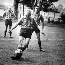 La pasión de don Guillermo por el fútbol lo acompañó toda su vida.