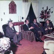 Reunión con rey Juan Carlos de España.
